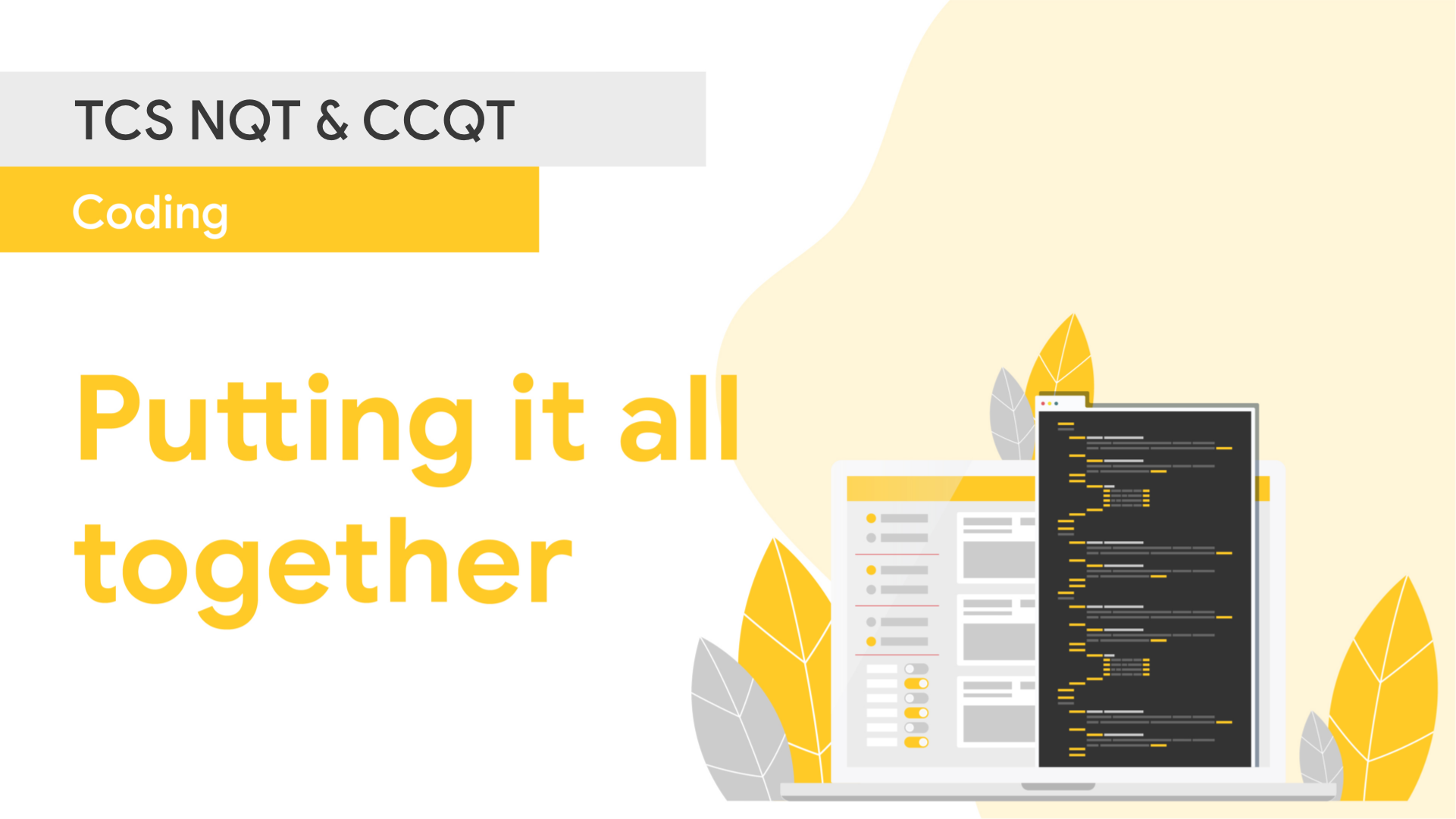 Type of Coding Questions to Expect in CCQT & TCS NQT 2020